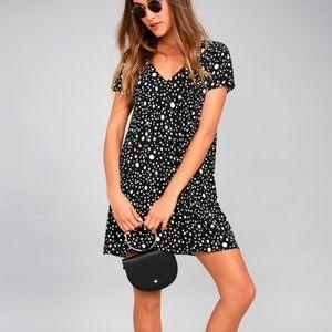 Lulus | Dot It Like It's Hot Polkadot Shift Dress